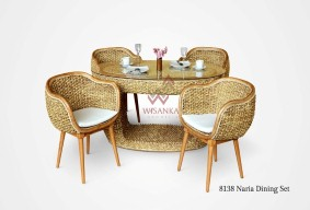 Our Products  Indonesia Rattan   Rattan Furniture Wholesale   Wicker     Naria Dining Set