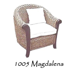 Magdalena Wicker Chair