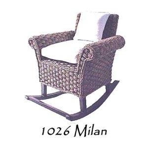 Milan Rattan Chair