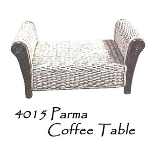Parma Wicker Coffee Table