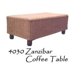 Zanzibar Rattan Coffee Table