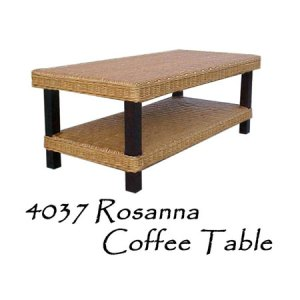 Rosanna Rattan Coffee Table