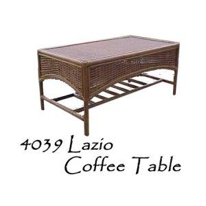 Lazio Rattan Coffee Table