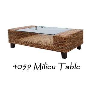 Milieu Wicker Coffee Table