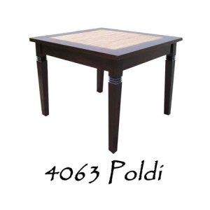 Poldi Rattan Dining Table