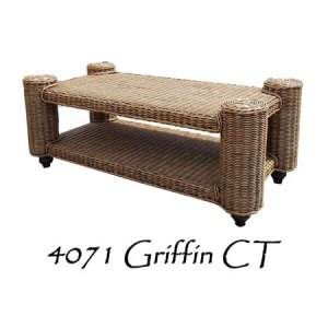Griffin Rattan Coffee Table