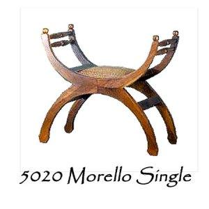 Morello Rattan Single Bench