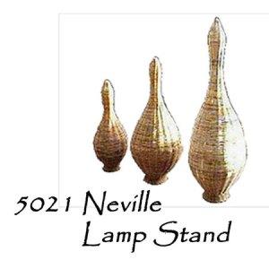 Neville Rattan Lamp Stand