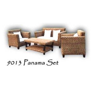 Panama Wicker Living Set