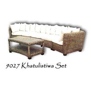 Khatulistiwa Wicker Living Set