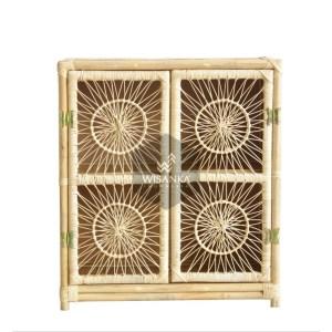 Aparador Spider Rattan Cabinet