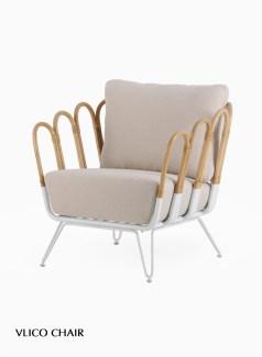 Vlico Rattan Chair