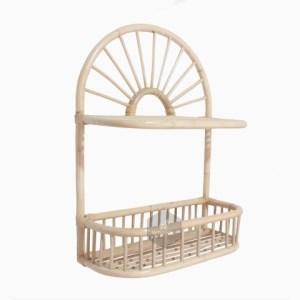 Mentari Rattan Mini Shelves