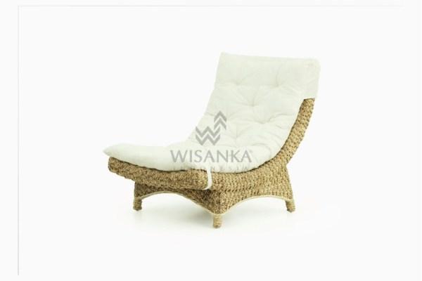 Moon Wicker Rattan Lazy Chair