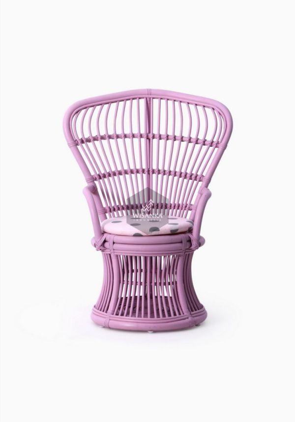 Makhuta Chair With Cushion Tampak Depan