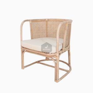 Diane Wicker Arm Chair