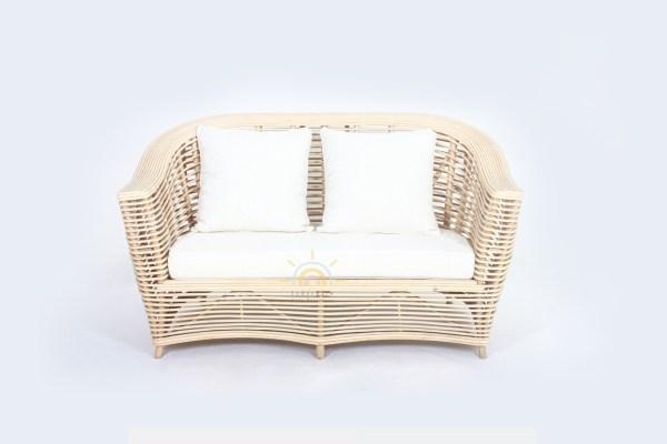 Claro Rattan Sofa Natural