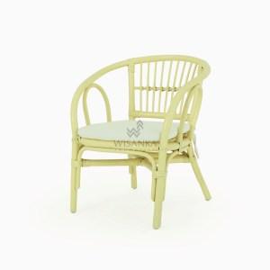 Jimmy Rattan Kids Chair Yellow