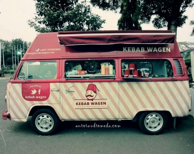 Food Truck Kebab Wagen - indonesia traveller