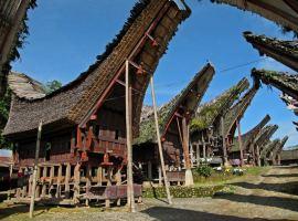 Rumah adat masyarakat Toraja [