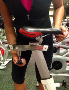 indoor cycling seat