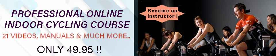 indoor cycling course