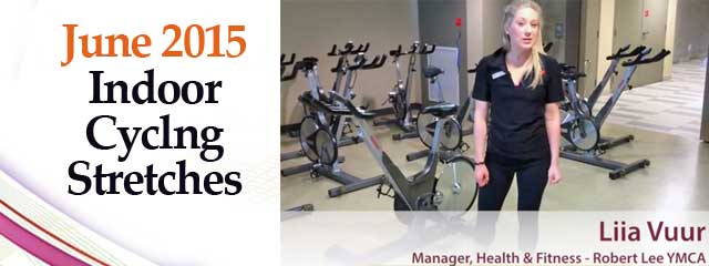 indoor cycling stretches