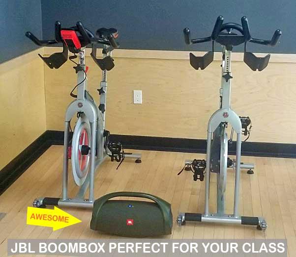 JBL Boombox at the studio