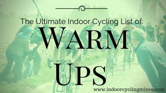Indoor Cycling Warm Up Drill and Routines