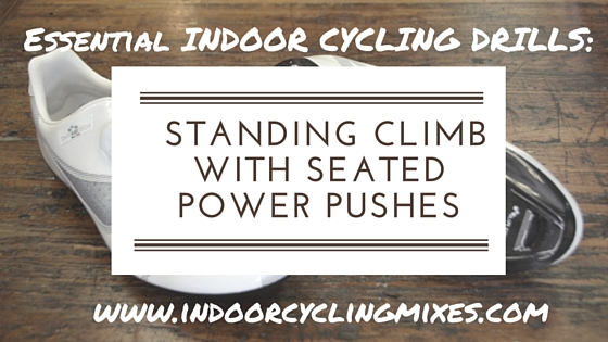 Standing Climb with Seated Power Pushes