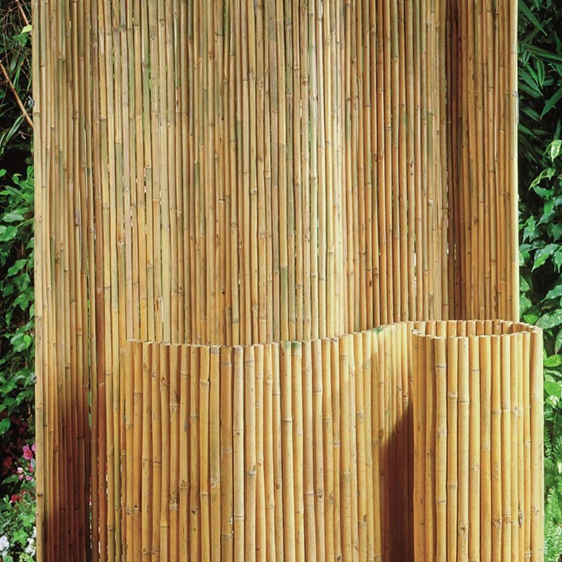 brise vue bambou naturel 100x180cm nature