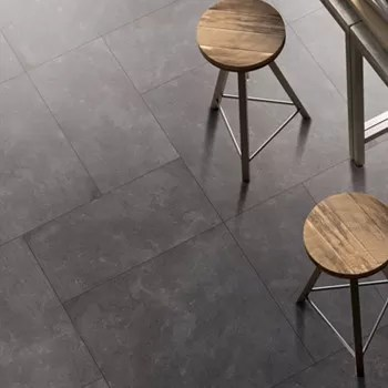 3d Inkjet Ceramic Kitchen Floor Tile Anti Bacterial Black Kitchen Floor Tiles