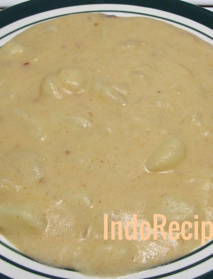 Hungarian Potato Stew (Krumplifőzelék )