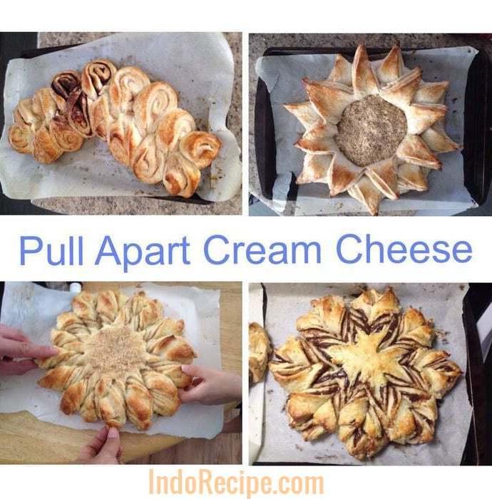 Pull Apart Cream Cheese Brioche