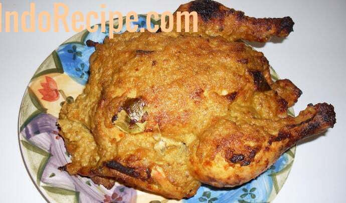 Ayam Ingkung (Grilled Chicken in Coconut Gravy )