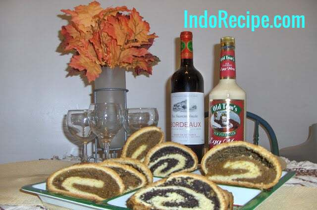 Bejgli (Hungarian Poppy Seeds and Walnut Rolls)