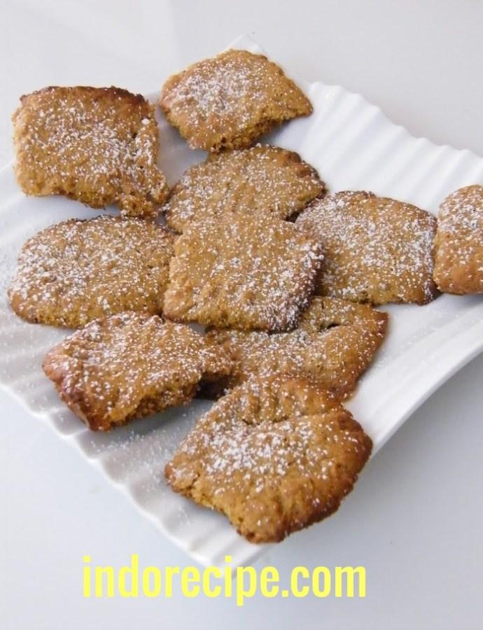 Peanut Butter & Maltose Cookies