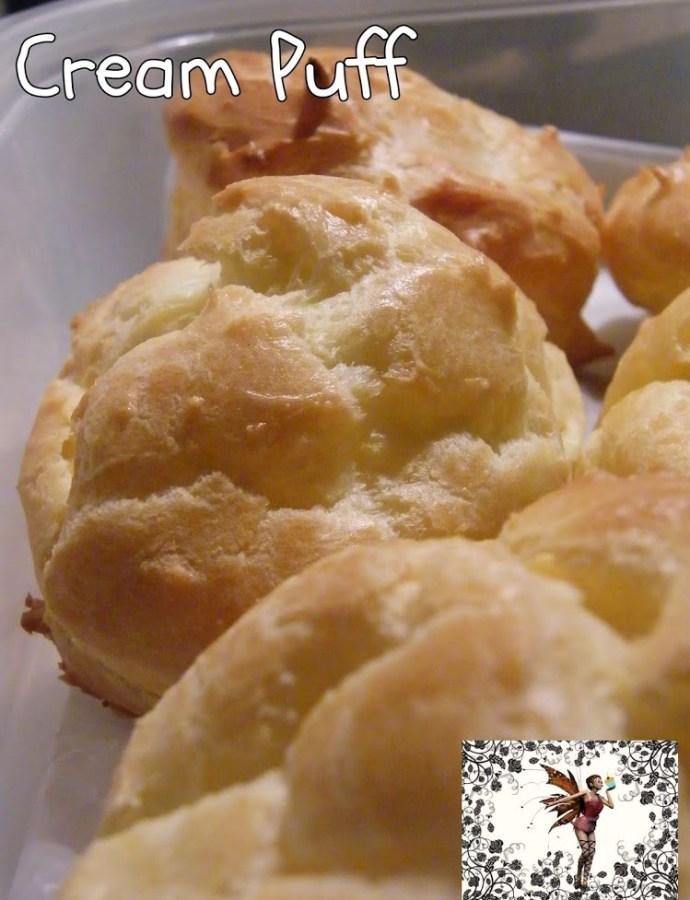Butterscotch-Eggnog Cream Puff Pastry