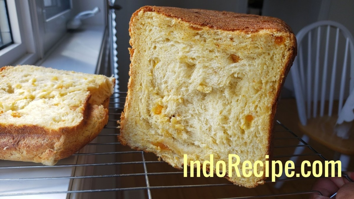 Bread Maker Apricot Sandwich Loaf (Great For Toasted Bread and Butter)