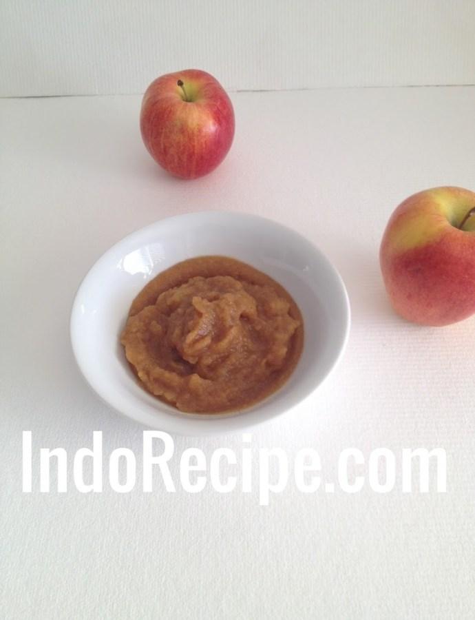 Palm Sugar Applesauce – Microwave