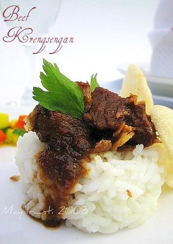 Beef Krengsengan (Giveaway Entry)