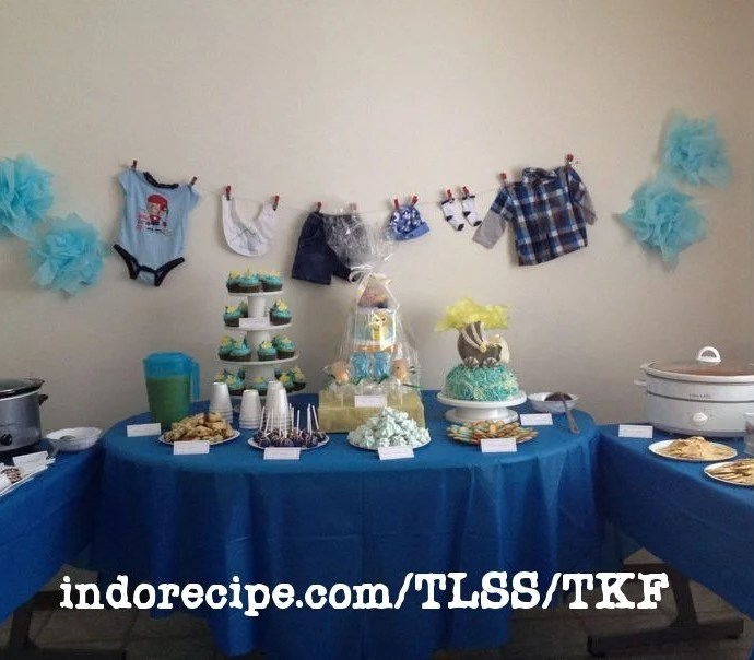 Party Table Idea: It's a Boy – Baby Shower