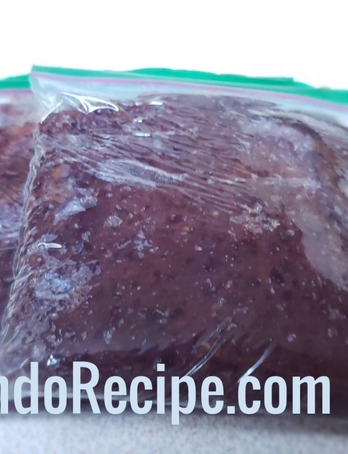 Homemade Red Bean Paste For Baked Goods