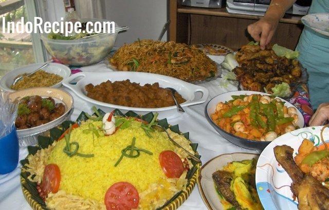 Glorious Indonesian Foods – Happy Birthday!