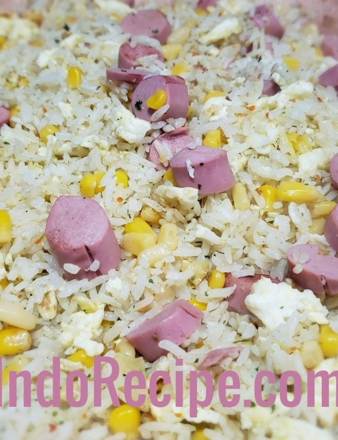 Easy Cooking: Simple Breakfast Fried Rice (Nasi Goreng)