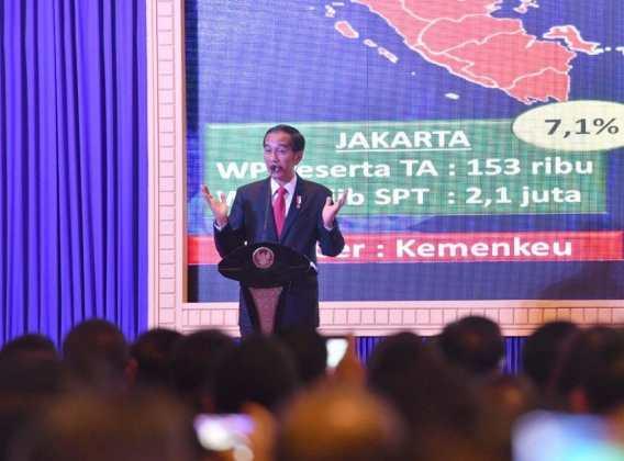 Presiden Jokowi Ajak Pengusaha Kalimantan Ikut Amnesti Pajak