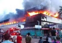 Api Kebakaran Pasar Senen Baru Padam Setelah 20 Jam