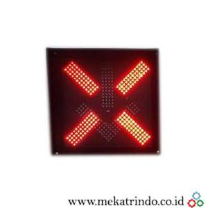 Lampu Traffic Cross - Cross Arrow - Mekatrindo