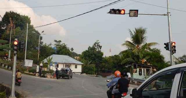 Jual Traffic Light, Lampu Lalu Lintas Sorong, Papua Barat