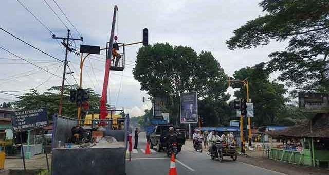 Jual Traffic Light, Lampu Lalu Lintas Lubuklinggau, Sumatera Selatan